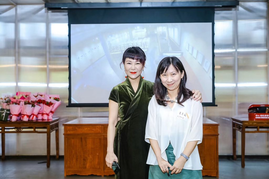2. Prof. Tsung-yi Huang, Joint-Lead of GenUrb Shanghai Research Team and Tianyan Lu, the owner of Yuwatai Museum